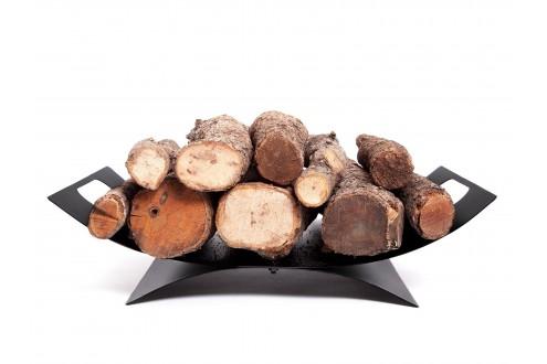 Support en bois ovale avec poignées pour le transport EFP14